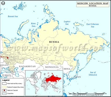 Moscow Russia Zip Code by Where Is Moscow Location Of Moscow In Russia Map