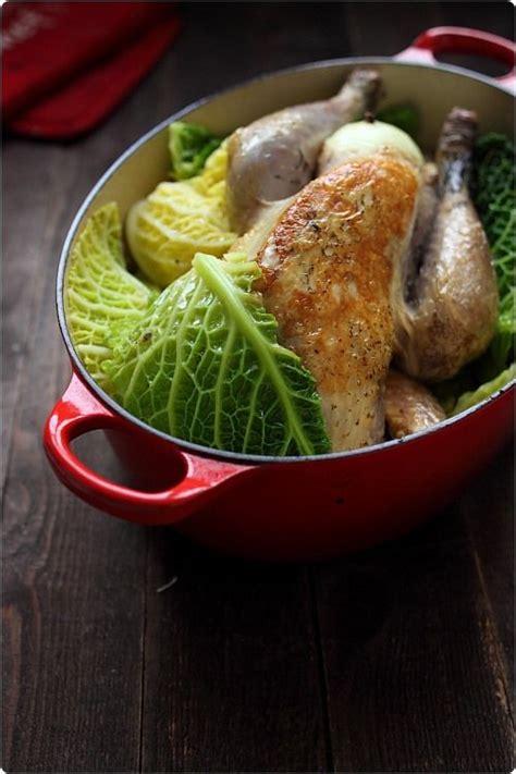 cuisine chou vert les 17 meilleures idées de la catégorie pintade au chou