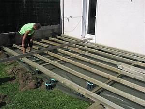 Bois Traité Autoclave : chantier terrasse en bois pin autoclave saint etienne ~ Dode.kayakingforconservation.com Idées de Décoration