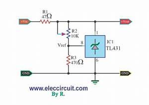 Tl431 Regulator Adjustable Explanation And Circuit
