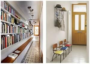 8 idees pour amenager un couloir visitedeco With tapis couloir avec faire son canapé d angle