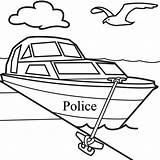 Coloring Boat Motor Popular Power sketch template