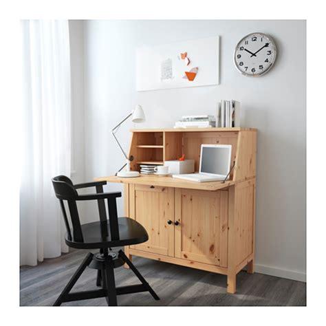 bureau hemnes hemnes bureau light brown 89x108 cm ikea