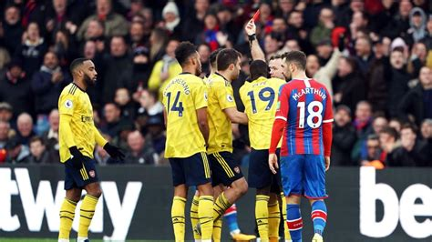 Premier League: Arsenal, à 10, rechute à Crystal Palace (1 ...