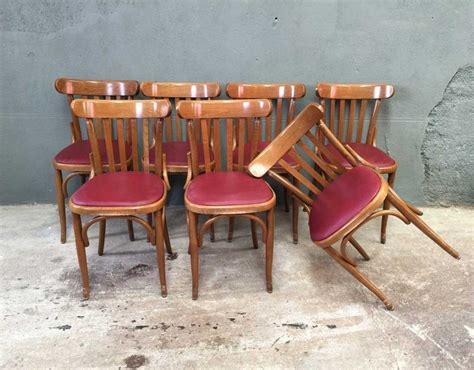 chaise baumann prix ensemble 8 chaises bistrot style baumann
