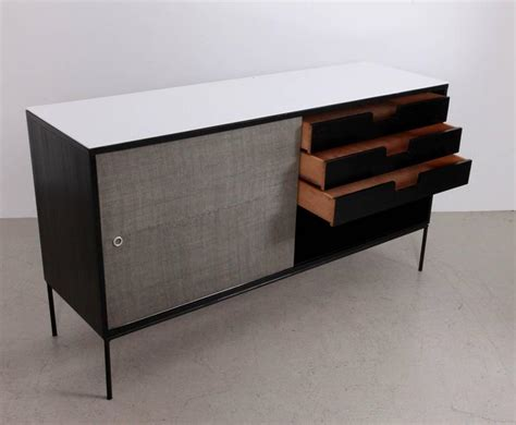 mccobb credenza paul mccobb planner credenza with vitrolite top for