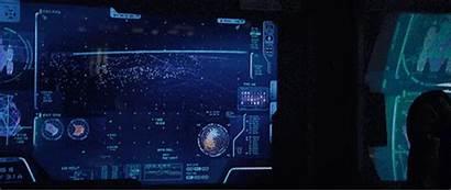 Interface Floating Pixel 3d Gifs Sci Fi