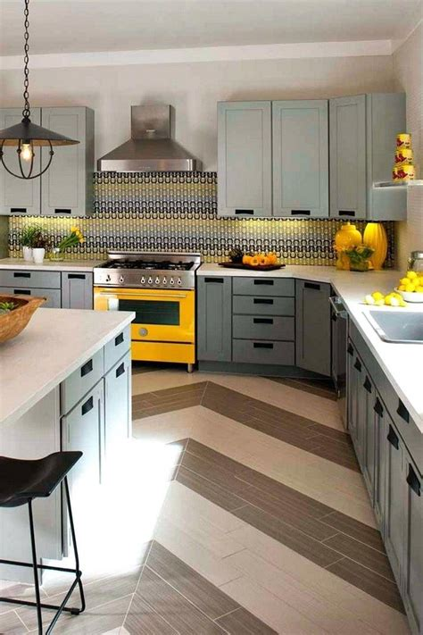 15+ Unbelievable Kitchen Interior Yellow And White
