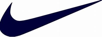 Nike Clip Clipart Vector Clker