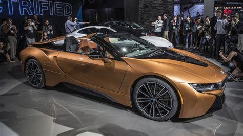 2019 Bmw I8 Roadster Revealed More Power, More Range