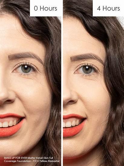 Foundation Matte Velvet Skin Lasting Ever Coverage
