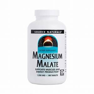 Magnesium Malate Supplement By Source Naturals