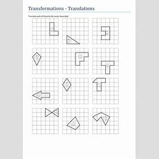 Gcse Transformations  Translations By Tristanjones  Teaching Resources