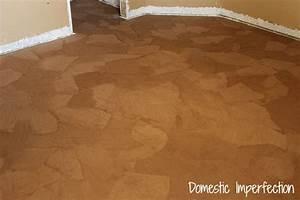 how to make paper bag floors diy crafts handimania With brown paper bag floor on concrete