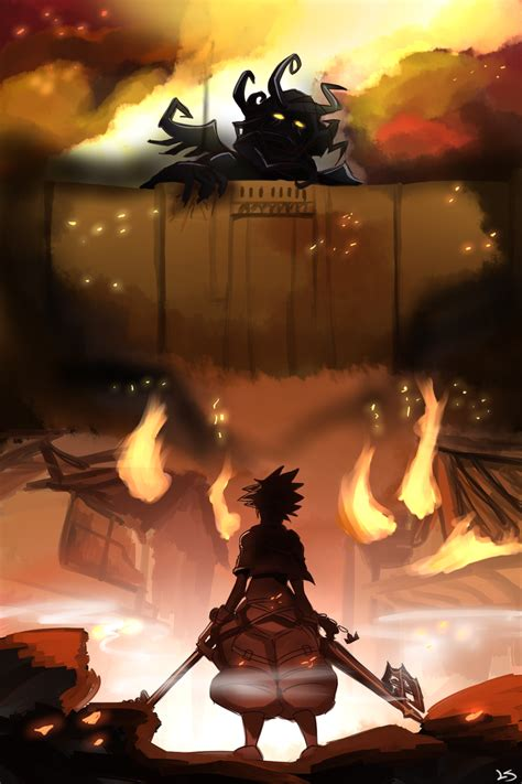 Fanart Spotlight Shingeki No Kingdom Hearts By