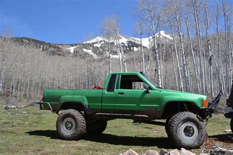 Toyota Rock by 1985 Toyota 3 Link Rock Crawler Metal Flake Daily