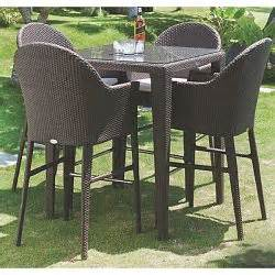 outdoor patio bar height table tables counter With home bar furniture malta