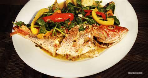 oignon blanc cuisine poisson gros sel kedny cuisine
