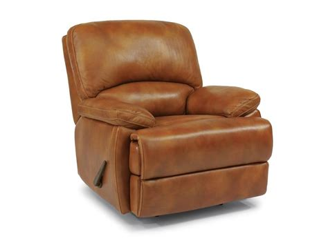 flexsteel living room leather chaise rocking recliner 1127