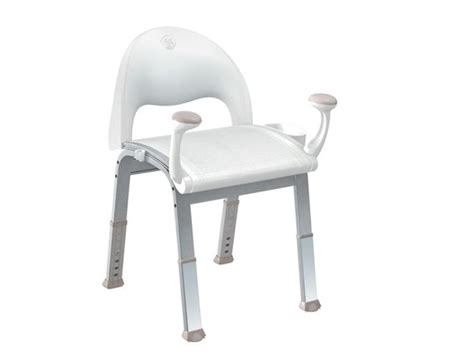 premium glacier shower chair by home care by moen elderluxe