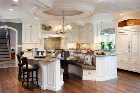 Kitchen Island Booth Seating by Charleston Kitchen Booth Seating Traditional With Drawer