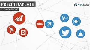 Prezi Template For A Presentation Related To A Comparison