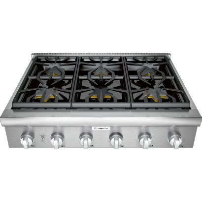 pcgw thermador  gas rangetop  star burners extra  simmer