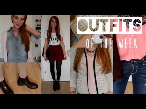 Winter Lookbook 2014 deutsch WINTEROUTFITS - Outfits of the Week #6 - YouTube