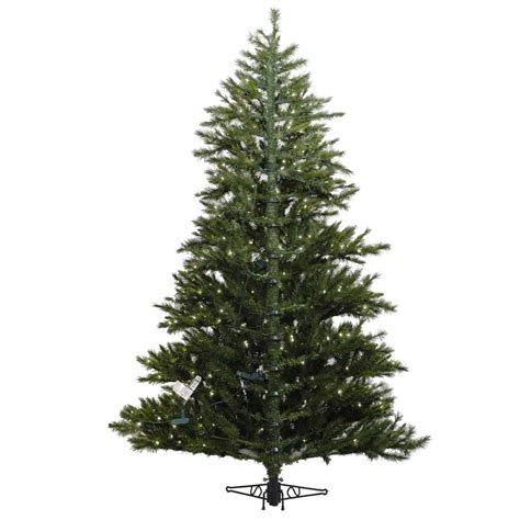 9 foot westbrook pine half christmas tree all lit lights