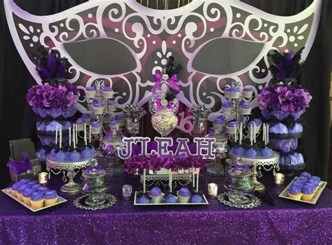 fabulous masquerade birthday party   party ideas