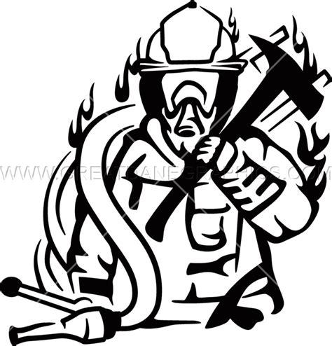 14074 firefighter helmet clipart black and white volunteer fighter production ready artwork for t