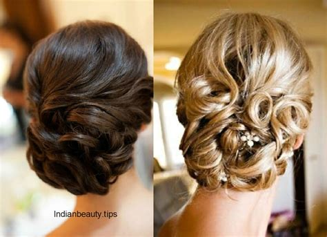 elegant bridal updo hairstyles indian beauty tips