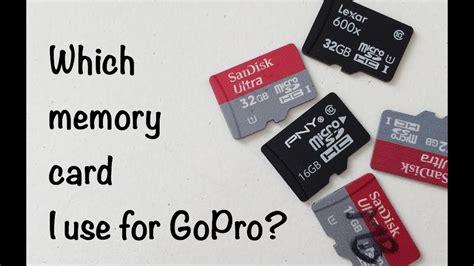 memory card   gopro tip  youtube