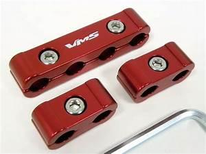 Spark Plug Wires Billet Wire Separators Dividers Red