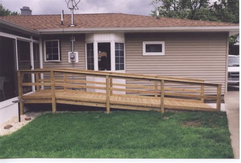 wheelchair ramp plans wood   build  amazing diy woodworking projects wood work