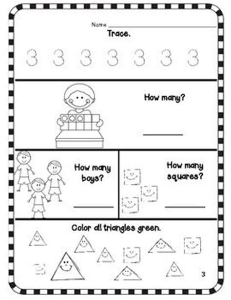 about numeros on preschool