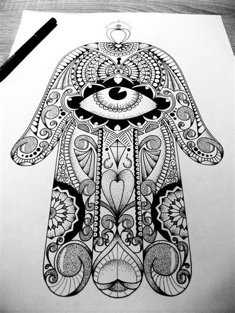 49 best Hamsa images on Pinterest | Hamsa art, Fatima hand and Mandalas