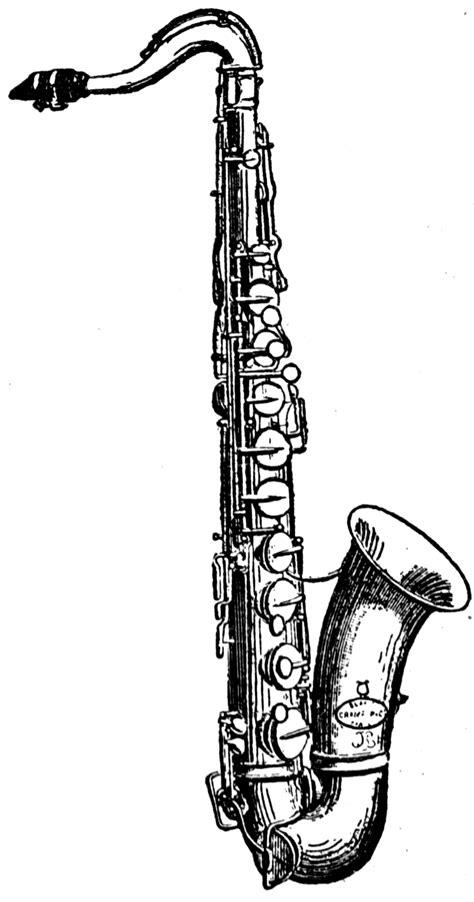 Tenor Saxophone | ClipArt ETC