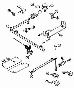 Gas Controls Diagram  U0026 Parts List For Model 31213xaw Magic