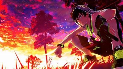 Exorcist Rin Ao Okumura Desktop Wallpapers Anime