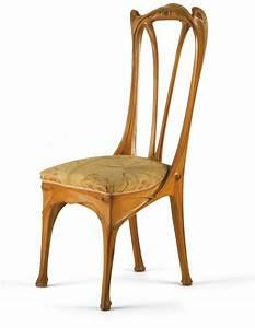 Art Nouveau Mobilier : chaise hector guimard 1867 1942 architecte ateliers d ~ Melissatoandfro.com Idées de Décoration