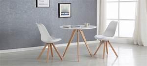 Table A Manger Blanche : table ronde blanche design et pas cher ~ Preciouscoupons.com Idées de Décoration