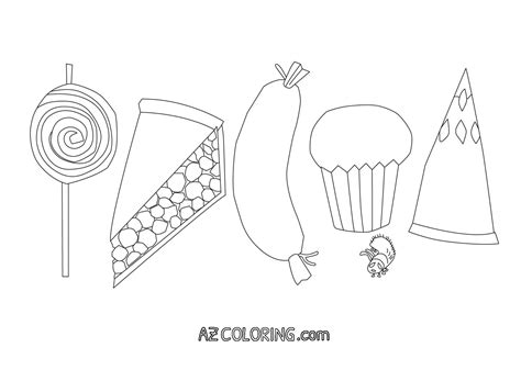 hungry caterpillar coloring page  coloring