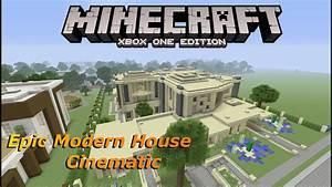 Minecraft: Epic Modern House Cinematic - YouTube