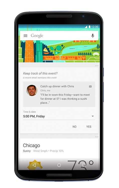 search app gets material design and new features
