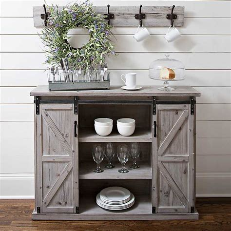 farmhouse sliding door cabinet natural farmhouse sliding door cabinet kirklands