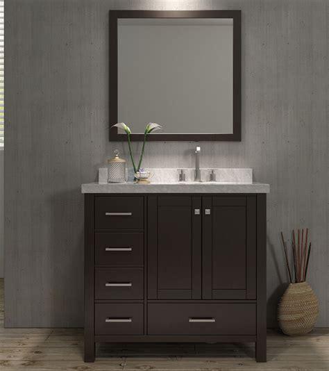 bathroom vanity with offset sink ace cambridge 37 inch single sink bathroom vanity set
