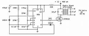 Small Power Transformer Telephone Ring Generator
