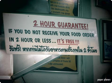 funny english signs  southeast asia paper planespaper