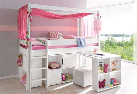 lit combine bureau fille lit combiné avec plan de travail rangements en pin